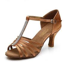 light in the box dance shoes women s latin shoes leatherette sandal professional outdoor low