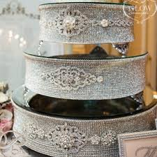 bling cake stand cake stands glow concepts linen rental