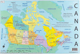 1600 Map Of America by Canada Educational Map Set Laminated Itm U2013 Mapscompany
