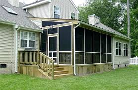 ideas for screened in porch medium size of deck screen porch plans