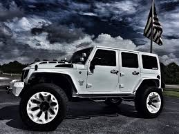 white linex jeep 2017 jeep wrangler unlimited custom lifted whiteout leather
