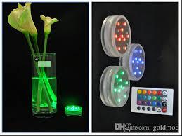 Led Vase Base Light Waterpoof Led Lights Base Remote Controlled Rgb Multi Colors Light
