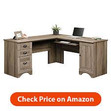 L Computer Desk L Shaped Computer Desk In Salt Oak 417586 Fabulous L Shaped