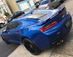 blue chevrolet camaro hyper blue chevrolet camaro ss 6th forgestar f14