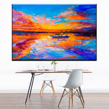 Boat Decor For Home by Online Get Cheap Small Boat Paintings Aliexpress Com Alibaba Group