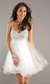 prom dresses white short discount evening dresses