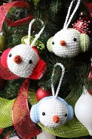snowman ornament free crochet pattern by agnes chow