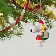 peanuts spotlight on snoopy 20th anniversary porcelain ornament