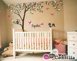 tree for baby room baby nursery wall decals tree wall decal tree