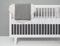 Modern Baby Crib Sheets by Olli Lime Black And White Crib Bedding Modern Baby Bedding