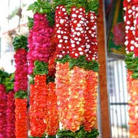 flower garlands for indian weddings flower garland manufacturers suppliers exporters in india