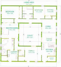 u shaped floor plans with courtyard u shaped floor plans awesome center courtyard house plans house