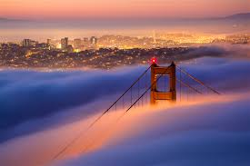 San Francisco Fog Map by San Francisco Travel Lonely Planet