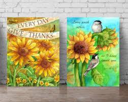 Sunflower Themed Bedroom Sunflower Field Etsy