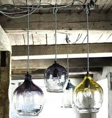 custom blown glass pendant lights hand blown glass l shades uk younited co