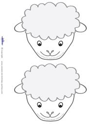 blank face coloring page printable pictures 2710