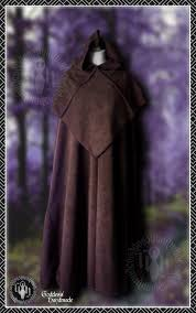 ritual robes fleece cloak with separate monk ritual robes