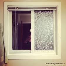 Privacy For Windows Solutions Designs Diy Bathroom Window Privacy Solution