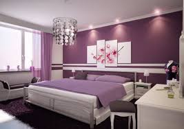 couple bedroom purple and white furnisher interior design