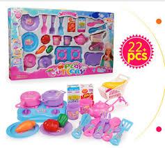 ustensile de cuisine en plastique nouveau 22 pcs ensemble enfants jouets cuisine cuisine ustensile de