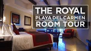 room tour at the royal playa del carmen 2016 youtube