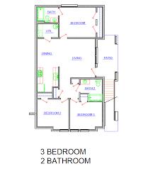 3bed 2bath Floor Plans Floor Plans Of Rainbow Creek Apartments In Chattanooga Tn