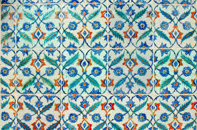 Ottoman Tiles Ancient Made Turkish Ottoman Tiles Stock Photo Picture And