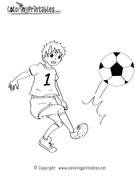 soccer game coloring page a free sports coloring printable