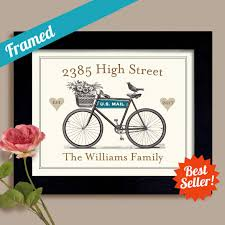 housewarming gift idea first home welcome home personalized