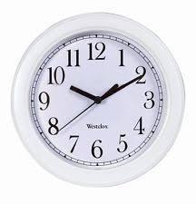 Office Wall Clocks Traditional Wall Clocks With Arabic Numerals Ebay