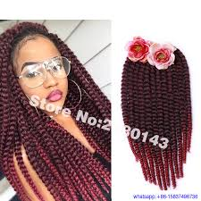 ombre crochet hairstyles 12 14 18 22 inch ombre havana mambo twist braid hair 6 packs