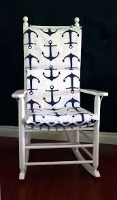 Rocking Chair Cushions For Nursery Rocking Chair Pad Diy Rocking Chair Cushion Pattern Free Rocking