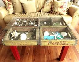 Lobster Trap Coffee Table by Crate Chic Using Old Wooden Crates As Tables Storage Bins Trays