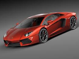 Lamborghini Aventador J Speedster - lamborghini aventador lp 750 4 superveloce 3d model http www