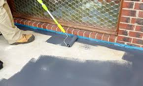 how to paint concrete floors bunnings warehouse