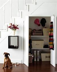 under stairs shelving 30 under stair shelves and storage space ideas freshome com