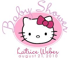 kitty baby shower invitation templates invitation ideas