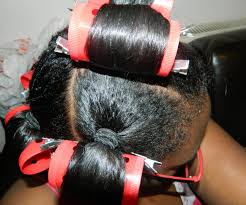 hair growth with wet set hairstyle roller setting relaxed hair tags heat ponytail rollerset