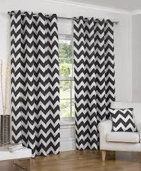 Chevron Pattern Curtains Black And White Patterned Curtains 92 Trendy Interior Or Lofty