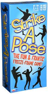 amazon com strike a pose game toys u0026 games