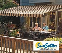 Awntech Retractable Awnings Reviews Sunsetter Retractable Patio Awnings Modern Patio U0026 Outdoor