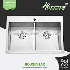 High Quality Kitchen Sinks Housestar High Quality Handmade Bathroom Basin Stainless Steel