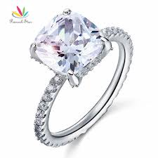 promise engagement rings images Peacock star solid 925 sterling silver wedding promise engagement jpg