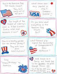 4th of july conversation starter and joke cards free printables