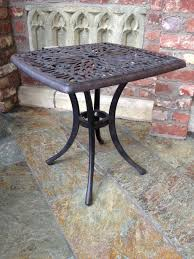 Outdoor Side Table Ideas by Wooden Outdoor Side Tables Home Furniture And Decor