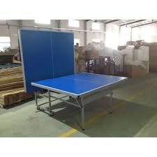 2 piece ping pong table china professional mdf board ping pong table with 2 piece table