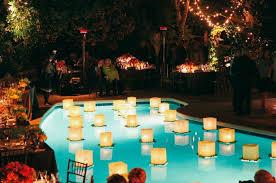 Backyard Wedding Lighting by Best 25 Floating Lanterns Wedding Ideas On Pinterest Floating