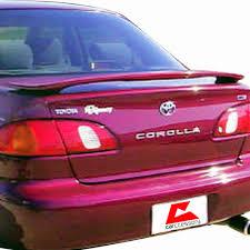 2001 toyota corolla spoiler 1998 2002 toyota corolla oem factory style spoiler 119 99