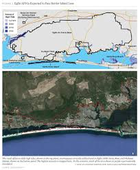 eglin afb map on the front lines of rising seas eglin air base florida
