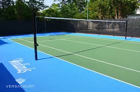 Backyard Tennis Courts Versacourt Court Tile For Tennis Court Construction U0026 Resurfacing